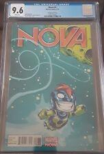 NOVA#1 (2013)*Young Variant* CGC 9.6, WHITE pp NICE! NM+