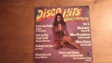 33T vintage - Disco hits originaux - boney M, sheila, ectasy, munich machine...