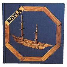 """KAPLA Kunstbuch Nr. 2 blau """"Für Fortgeschrittene"""" (9+)"""