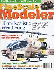 Fine Scale Modeler Magazine February 1997 Boeing 720B / AH-1W Super Cobra