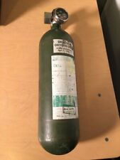 Vintage Drager Breathing Oxygen Air Cylindar Tank Coal Mining