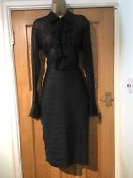 BNWOT Catwalk Collection Dress Size 10 Bodycon Stunning Stretch