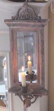 Wandspiegel,Spiegel,Wandkerzenhalter, Shabby, Brocante, Antique Chic, 58 cm,