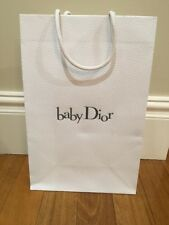 ^Authentic BABY DIOR paper shopping bag ~ FASHION BLOGGER Luxury