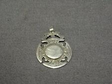 Antique Sterling Silver Pocket Watch Fob/Medal - Birmingham 1906