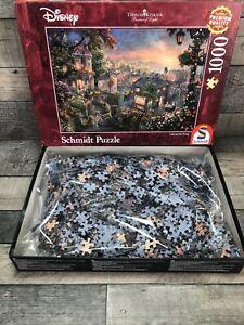 Schmidt Disney Thomas Kinkade Lady and The Tramp 1000 piece jigsaw puzzle