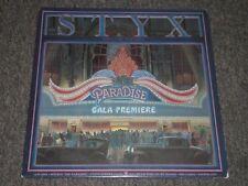 Styx~Paradise Theatre~RARE PROMO Copy~Laser Etched Vinyl~1981 Arena Rock