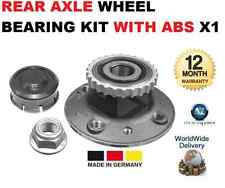 für Renault Kangoo Express NEU Hinterachse mit ABS Radlager Satz X1