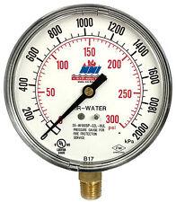 60 Pcs Ashcroft Fire Protection Sprinkler Pressure Gauge 300Psi, 2000kPa 2017