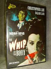 The Whip and the Body (DVD 2013) New Sealed•USA•Christopher Lee•Kino Lorber•Rare