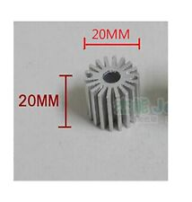 10 pcs Mini size 1W Watt LED Aluminium Heatsink long Round