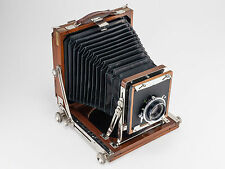 Vintage Tachihara Hope A Half Plate Field Dry Plate Camera w/ Fujinon 150mm