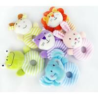 Kids Baby Animal Handbells Musical Developmental Toy Bed Bells Rattle Toy KI