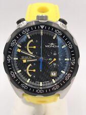 Watch Mondia Crono RS2 sapphire crystal RUBBER Yellow Swiss On sale New