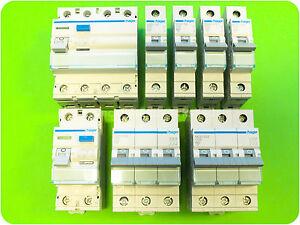 HAGER LS Sicherungsautomat MBN/MCN | FI Fehlerstromschalter CDA