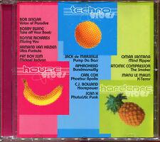 MUSIC VIBES - TECHNO / HOUSE / HARDCORE - CD COMPILATION [2881]