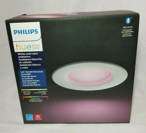 """Philips Hue White & Color Ambiance Smart Retrofit Recessed Downlight 5/6"""""""