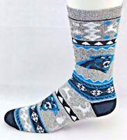 Carolina Panthers Football Ugly Christmas Sweater Crew Socks