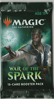 1 Sealed New Unopened War Of The Spark MTG English Booster Pack