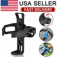 Bicycle Water Bottle Holder Mount Handlebar Rack MTB Bike Cycling Drink Cup Cage