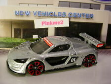 2016 Hot Wheels RENAULT SPORT R.S. 01  ✰NEW Silver; Red TRAP5 ✰LOOSE✰HW Exotics