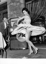 LILLI SCARINGI Skirt BAS Jartelles JAMBES Legs JUKE BOX Pin up Danse Photo 1950s