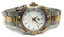 Beverly Hills Polo Club Gold/Silver Tone Wrist Watch Date Window
