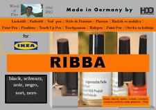 Lackstift für IKEA RIBBA schwarz