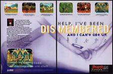KASUMI NINJA__Original 1994 Print AD / Atari game promo__JAGUAR 64-bit__advert