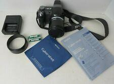 "Sony Cybershot DSC-H5 Digital Camera 7.2MP 12X Zoom 3"" Screen Black #4365"