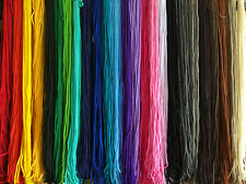 NYLON BRAIDED CORD ROPE 24 COLOUR CHOICES - 30m  Macrame/Weave/Plant Hangers