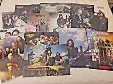 RARE Revolver Mag 14 Centerfold Poster Lot* Metallica Lamb Of God Ozzy Mastodon