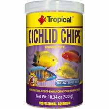 Cichlid Chips High Protein Colour Enhancing Food for Malawi Mbuna 1000 Ml 520 G