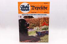 LGB Kataloge / Zeitschriften - LGB DEPESCHE Frühjahr 1986 Heft 54 Spur G