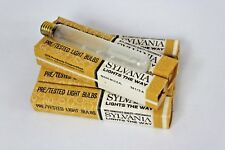Sylvania T6-1/2-A Tubular Lamp Light Bulbs Frosted 20W 120V - 6 Pack NEW