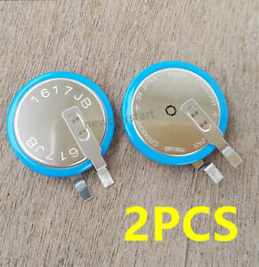 2PC MAXELL CR2450HR Battery for TPMS Tire Air Pressure Sensors for PLC