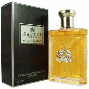 Ralph Lauren Safari For Men Eau De Toilette Spray 125Ml **Brand New**