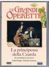 LE GRANDI OPERETTE LA PRINCIPESSA DELLA CZARDA DVD RAI TRADE FABBRI ED.