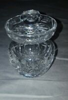 Waterford Crystal Condiment/Jelly Or Mustard Jar With Lid