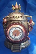 Steampunk Mechanics of Time Nemesis Now New Boxed Desk Clock Ornament Trinket