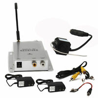 Wireless 2.4GHz Mini 380TVL CCTV Security Camera Transmitter with Receiver IL