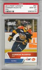2013 Post Canada CONNOR McDAVID OHL Erie Otters Rookie PSA 10 GEM MINT 1/2