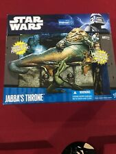 Star Wars:  2010 Jabba's Throne (Walmart Exclusive) New In Box Sealed