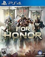 For Honor (Sony PlayStation 4, 2017) Sealed Brand New