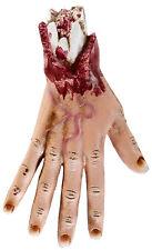 Abgehackte Hand Halloween Deko NEU - Partyartikel Dekoration Karneval Fasching