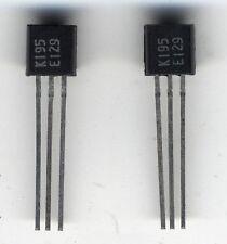 2 transistors J-fet appairés 2SK195 / 2 x matched transistors 2SK175 / Toshiba
