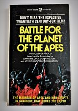 Battle for the Planet of the Apes First Printing 1973 NICE