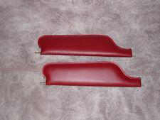 1967-69 camaro convertible new sun visors red