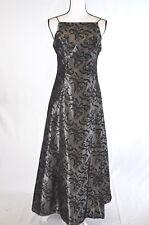 Night Way Collections Womens Dress 8 Taffeta Velvet Formal Prom Vintage (V)