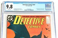 CGC 9.8 DETECTIVE COMICS #583 starring BATMAN * 1st Scarface & Ventriloquist